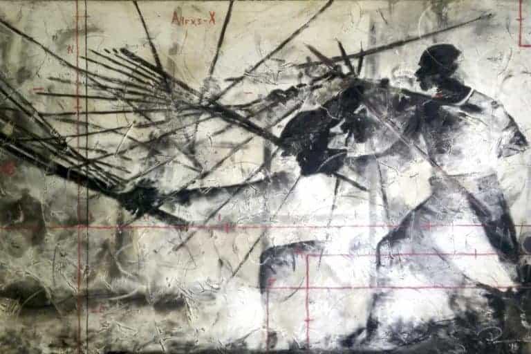 Riaan van Zyl : Stick fight