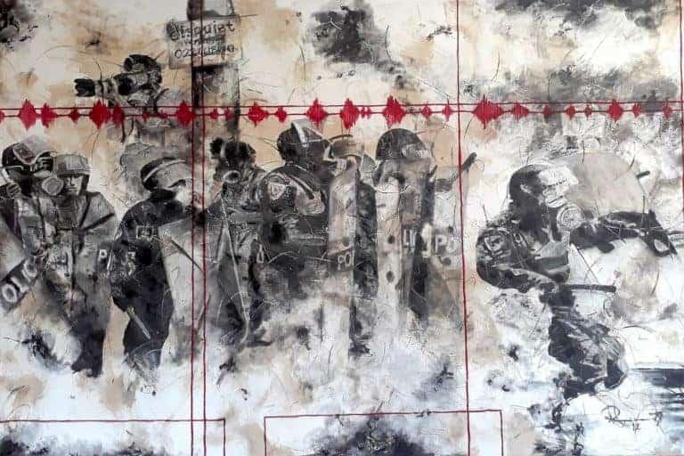 Riaan van Zyl : Recent unrest Riebeek Kasteel